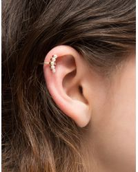Need Supply Co. | Metallic Pearl Cluster Ear Cuff | Lyst