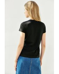 BDG - Black Perfect Crew-neck Tee - Lyst