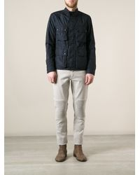 Belstaff - Blue Barningham Jacket for Men - Lyst