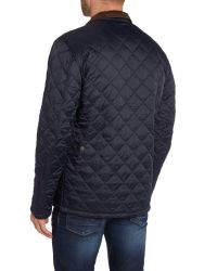 Barbour | Blue Land Rover Rugby Sandy Jacket for Men | Lyst