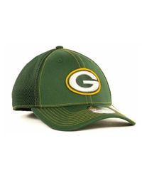 KTZ - Green Bay Packers Neo 39Thirty Cap for Men - Lyst
