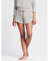 Banana Republic | Gray Slubbed Lounge Short | Lyst