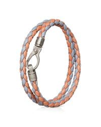 Tod's | Multicolor Mycolors Bracelet In Leather for Men | Lyst
