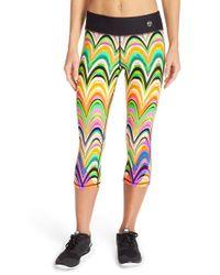 Trina Turk - Multicolor 'new Wave' Capri Leggings - Lyst