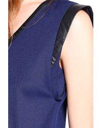 Liu Jo | Blue 'tamaro' Dress | Lyst