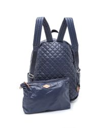 MZ Wallace - Blue Metro Backpack - Navy - Lyst