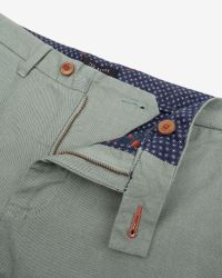 Ted Baker | Green Rurisk Slim Fit Chinos for Men | Lyst
