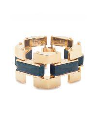 Lele Sadoughi | Metallic Sandbar Bracelet In Starry Night | Lyst