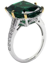 Carat* | Green Grand Canary 8ct Cocktail Ring | Lyst