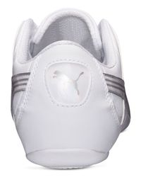 PUMA - White Women'S Takala 2 Opulence Casual Sneakers From Finish Line - Lyst