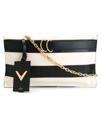 Valentino - Black 'my Rockstud' Clutch - Lyst