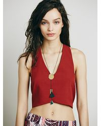 Free People - Intimately Womens T-back Structured Shell - Lyst