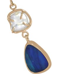 Melissa Joy Manning - Blue 14-karat Gold Multi-stone Earrings - Lyst