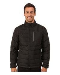 Spyder | Black Dolomite Full Zip Down Jacket for Men | Lyst