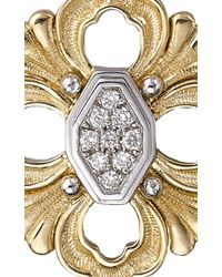 Buccellati - Metallic Opera Pendant Earrings With Diamonds In Yellow Gold - Lyst