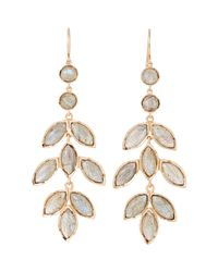 Irene Neuwirth | Metallic Gemstone Chandelier Earrings | Lyst