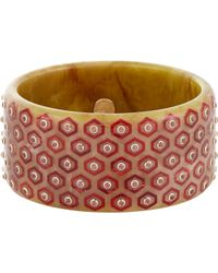 Mark Davis | Red Women's Arabella Bangle | Lyst