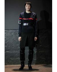 Vetements - Black Front Slit Mini Skirt - Lyst