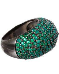 M.c.l | Green Agate Stardust Ring | Lyst