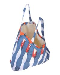 MSGM | Blue Handbag | Lyst