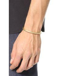 Miansai | Metallic Ipsum Brass Cuff for Men | Lyst