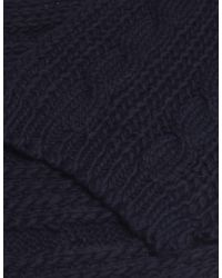 Jules B - Blue Soft Cable Knit Scarf for Men - Lyst
