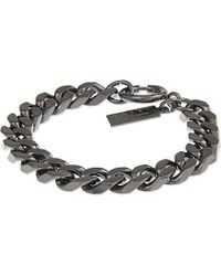 The Kooples | Black Chain Bracelet - For Women | Lyst