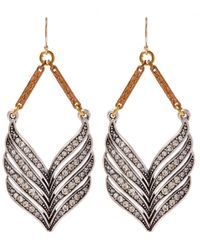 Lulu Frost | Metallic Lucent Earring | Lyst