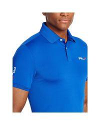 Ralph Lauren   Blue Tailored-fit Polo Shirt for Men   Lyst