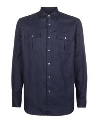 Nicole Farhi | Blue The Lambert Shirt for Men | Lyst