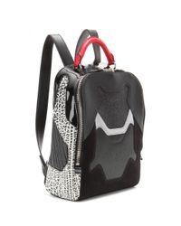 Alexander Wang - Black Sneaker Leather Backpack - Lyst
