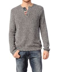 Denim & Supply Ralph Lauren | Blue Men's Cotton Crewneck Sweater for Men | Lyst