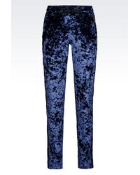 EA7 | Blue Pants | Lyst