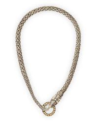John Hardy | Metallic Naga Dragon Necklace | Lyst