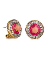 Lele Sadoughi | Sundial Earrings, Pink | Lyst
