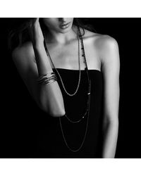 David Yurman | Metallic Cable Classics Bangle Bracelet In Gold | Lyst