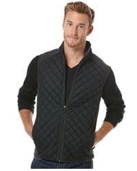 Perry Ellis - Gray Slim Fit Heather Texture Suit Vest for Men - Lyst