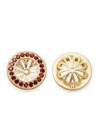 Astley Clarke - Red Garnet Pave Earrings - Lyst