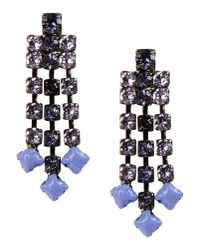 Tom Binns - Blue Earrings - Lyst