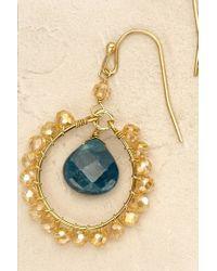 Anthropologie | Blue Lissette Earrings | Lyst