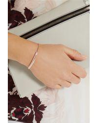 Monica Vinader | Pink Havana 18ct Rose Gold-plated Friendship Bracelet | Lyst