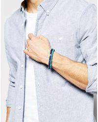 Simon Carter - Blue Semi Precious Bracelet Pack for Men - Lyst