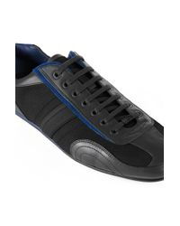 HUGO - Gray Trainers With Leather Trim: 'thatoz' for Men - Lyst