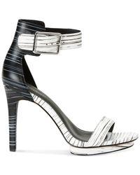 1bdfe559247 Lyst - Calvin Klein Women S Vable Sandals in White