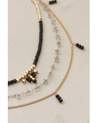 Anthropologie | Black Nohelia Beaded Necklace | Lyst