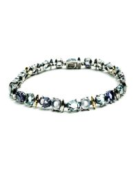 Alexis Bittar - Multicolor Mystic Marquis Delicate Tennis Bracelet With 18k Gold You Might Also Like - Lyst