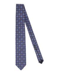 Baldinini - Blue Tie for Men - Lyst