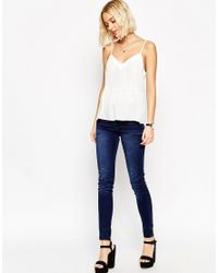 ASOS - Multicolor Soft Gathered Pretty Cami Top - Lyst