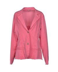 Athletic Vintage - Pink Blazer - Lyst