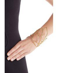 Alexis Bittar - Metallic Phoenix Crystal Embellished Rocky Cuff - Gold - Lyst
